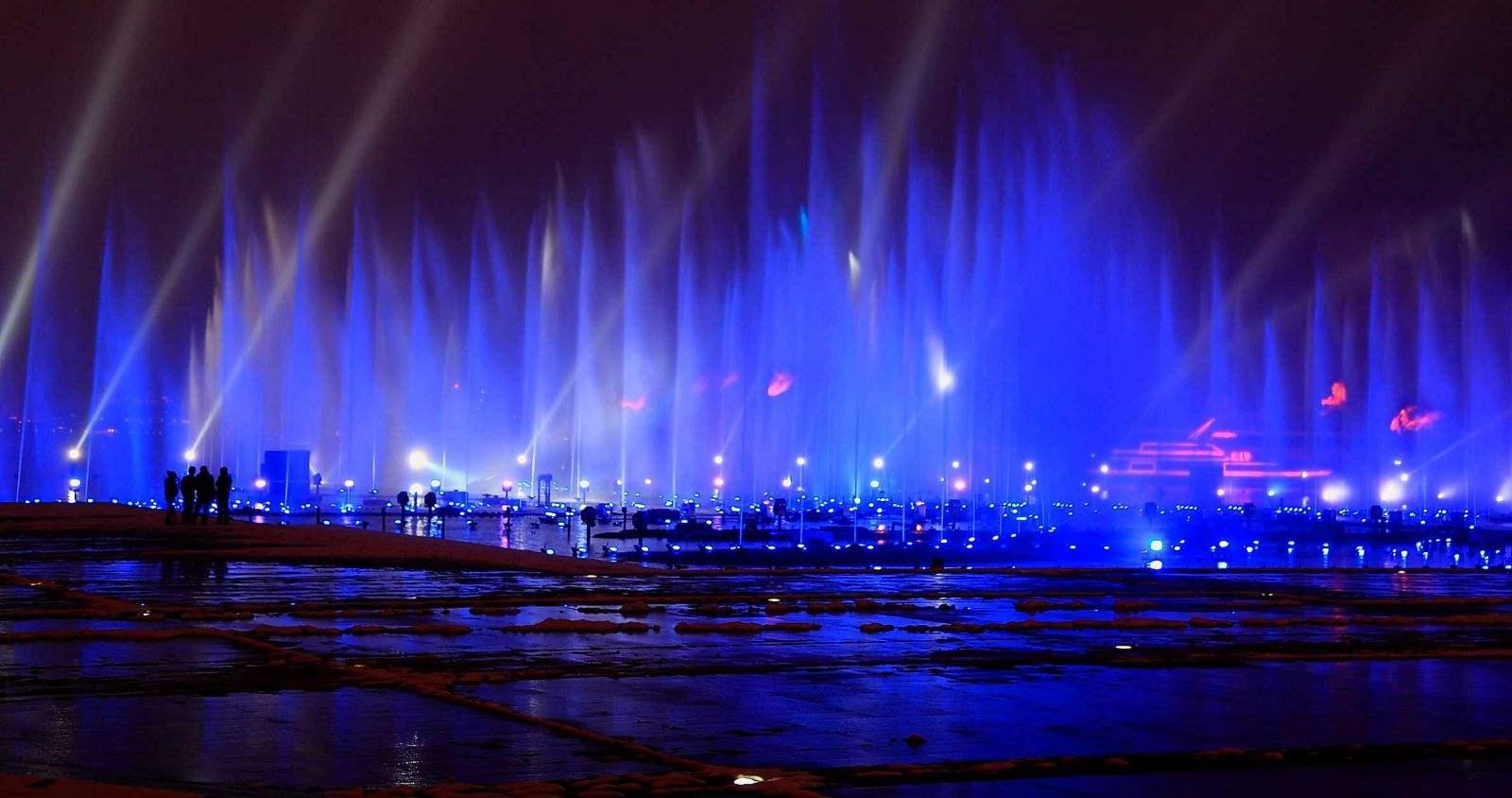 音乐喷泉设计中比较常见的水型